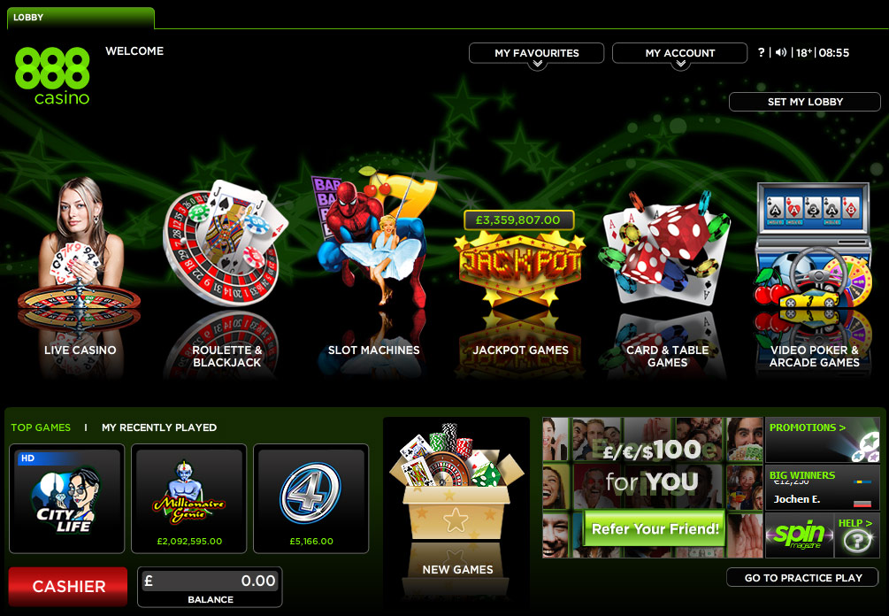 888 casino blackjack review