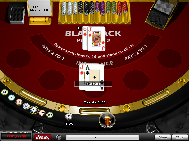 Play Lucky Blackjack Online at Casino.com South Africa