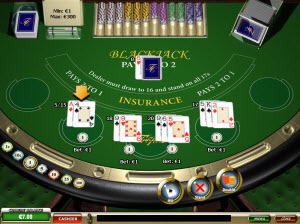 Casino Tropez Blackjack 3 Hands
